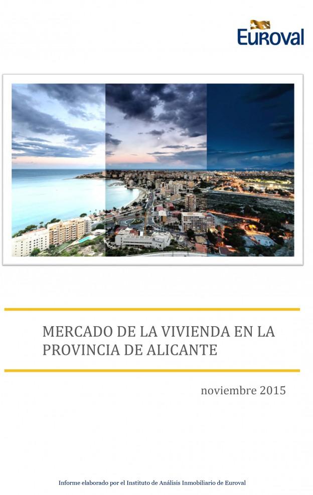 Informe de Mercado de la vivienda en la provincia de Alicante nov-2015