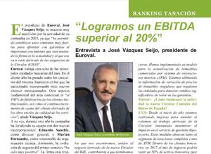 """""""Logramos un EBITDA superior al 20%"""" – José Vázquez Seijo en Metros2"""