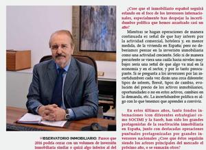 Entrevista a José Vázquez Seijo por Observatorio Inmobiliario y de la Construcción