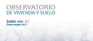 Observatorio Vivienda y Suelo Ministerio Fomento 1T2017