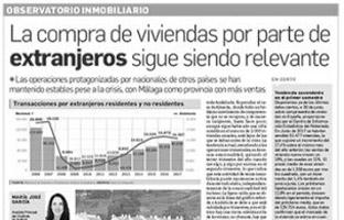 La compra de viviendas por extranjeros en Andalucía sigue siendo significativa