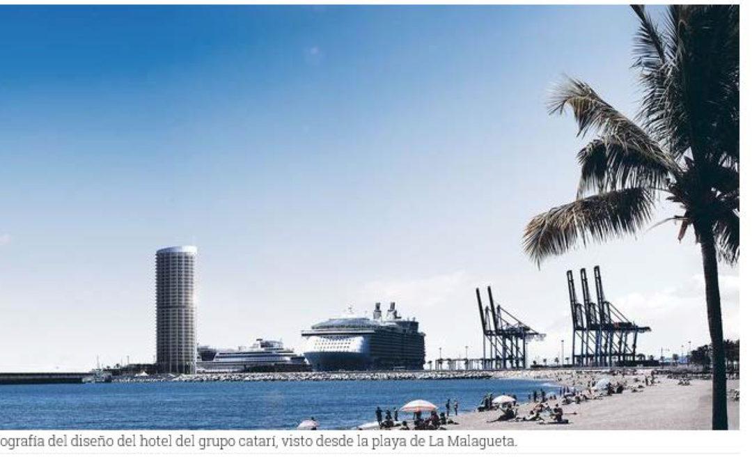 El negocio millonario del hotel del Puerto de Málaga