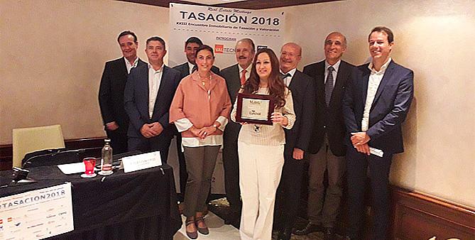 Euroval recibe el premio 'Tasación 2018'