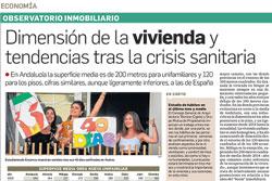 Dimensión de la vivienda en Andalucía y tendencias que surgen de la crisis sanitaria