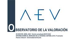 XII Observatorio de la Valoración de la AEV