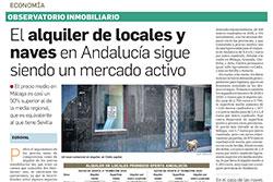 El alquiler de locales y naves en Andalucía sigue siendo un mercado activo