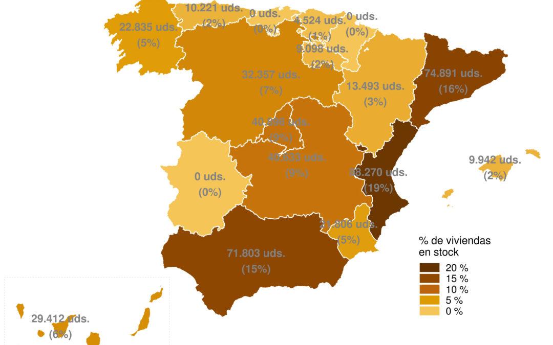 Metros2: La Covid contrae la producción de viviendas en España
