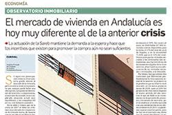 El mercado de vivienda en Andalucía es hoy muy diferente al de la anterior crisis