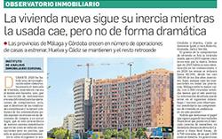 Observatorio Inmobiliario – Las compraventas de vivienda en Andalucía en un año peculiar