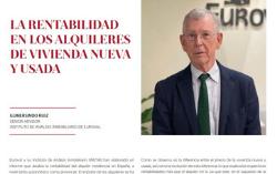 Observatorio Inmobiliario – La rentabilidad en los alquileres de las viviendas nueva y usada en España