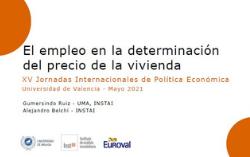 Euroval participa en la XV Jornadas Internacionales de Política Económica