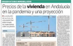 Observatorio Inmobiliario – El comportamiento de los precios de la vivienda en la pandemia en Andalucía y una proyección
